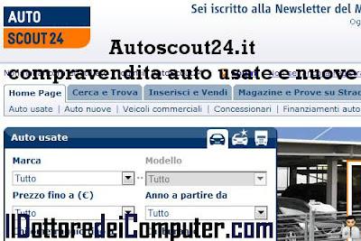 autoscout24 compravendita auto