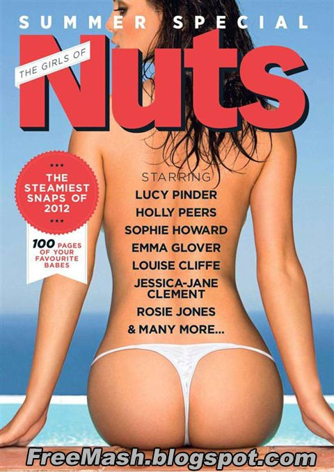 Nuts - Girls of Summer (2012) PDF Magazine Full Free Download