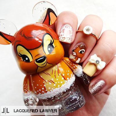 Bambi Nail Art