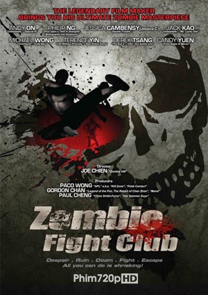 Zombie Fight Club 2014 poster