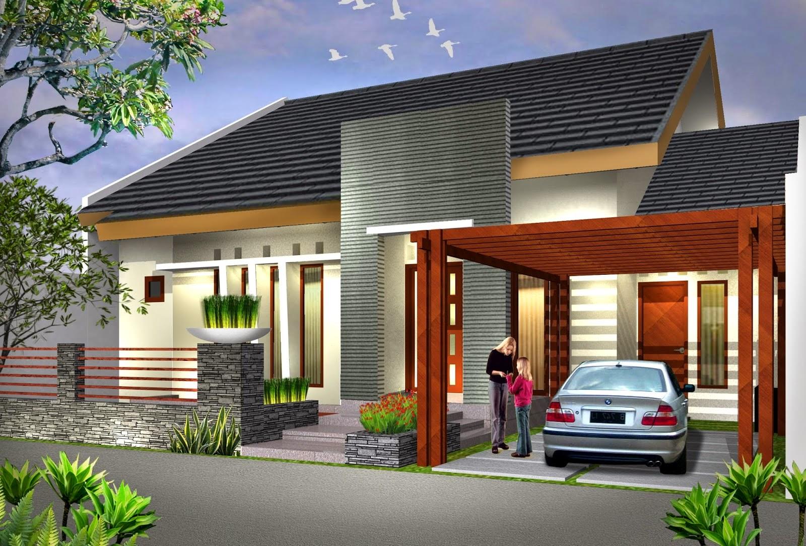 Rumah Dengan Sentuhan Pribadi