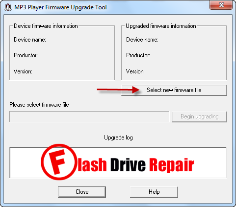 how to update mp3 and mp4 player firmware