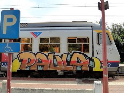 paula graffiti