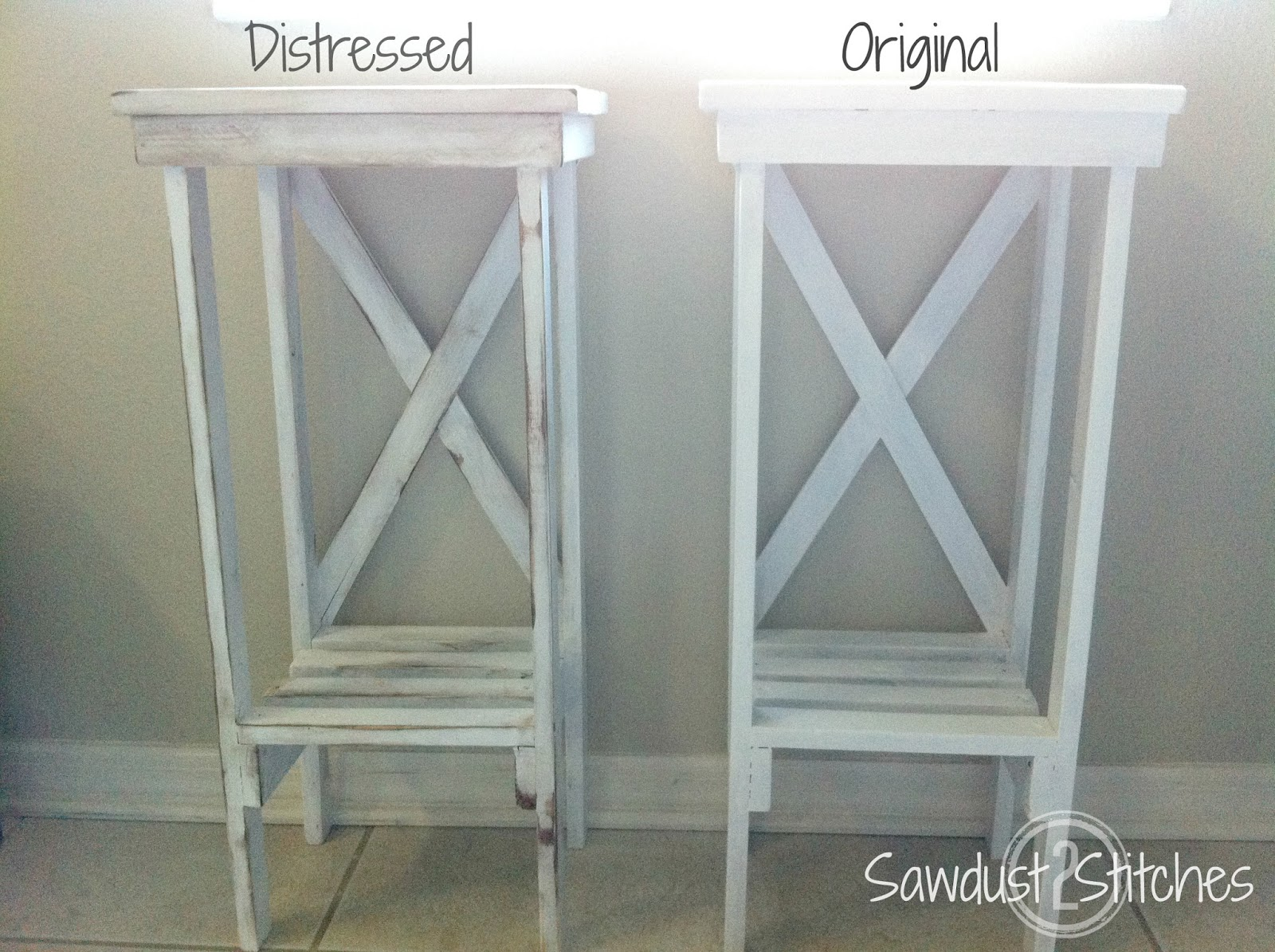 How To Paint And Distress Wood Furniture Furniture