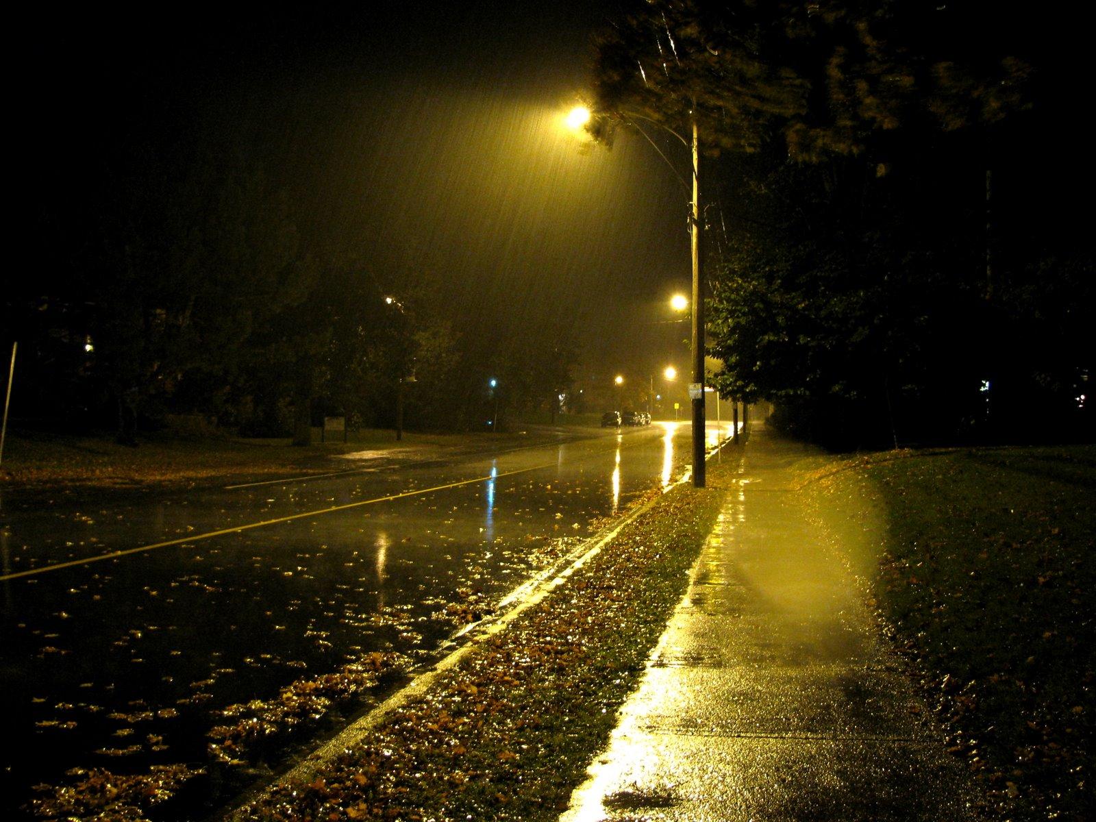 Gece sessizlik karanlık yalnızlık ve huzur