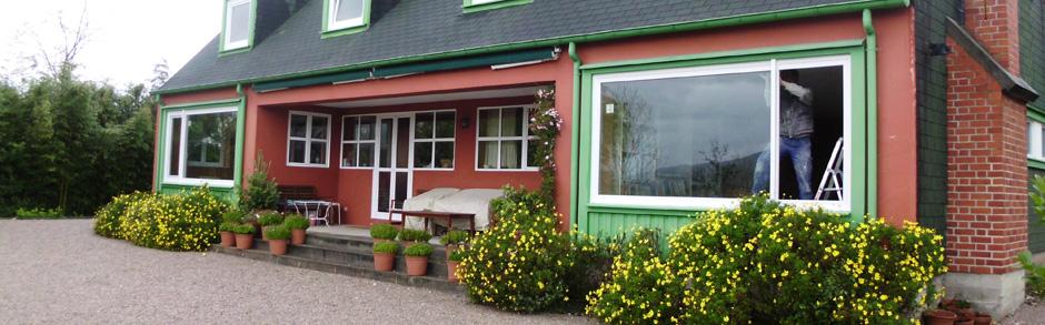 Ventanas y puertas de aluminio y pvc cantabria ventacav - Puertas acristaladas exterior ...