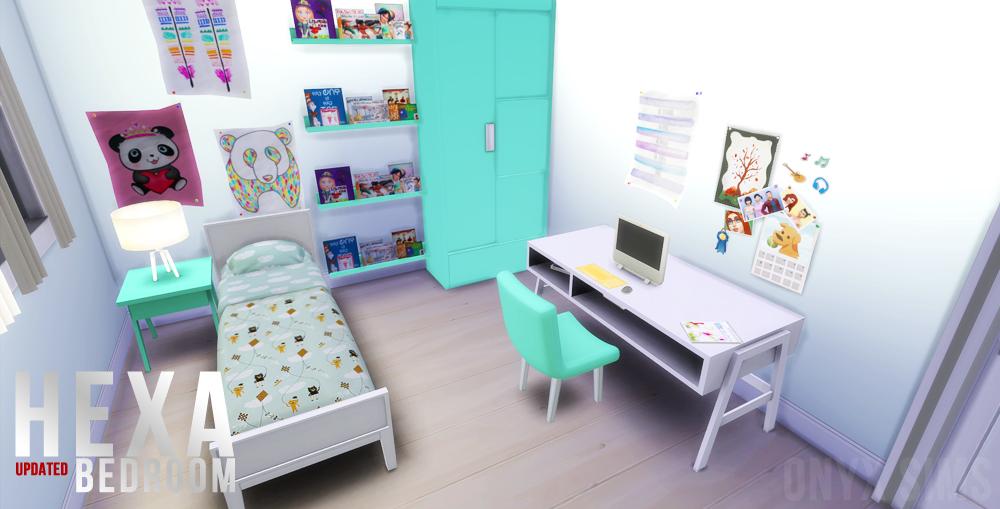 TS4 Hexa Bedroom Onyx Sims : imgupdate003 from onyxsims.blogspot.com size 1000 x 509 jpeg 323kB