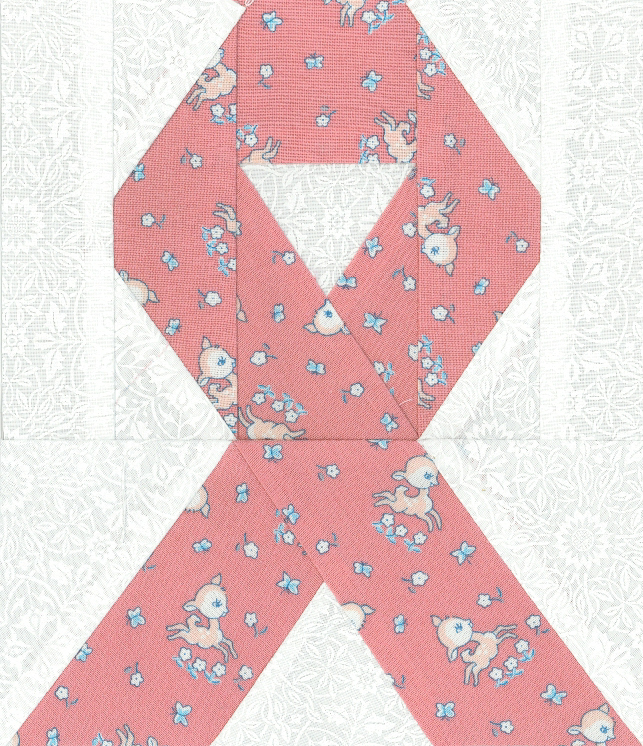 Pink Ribbon Quilt Kalico Kate