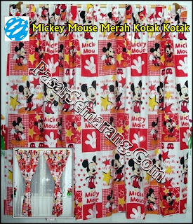 Jual Gorden Mickey Mouse