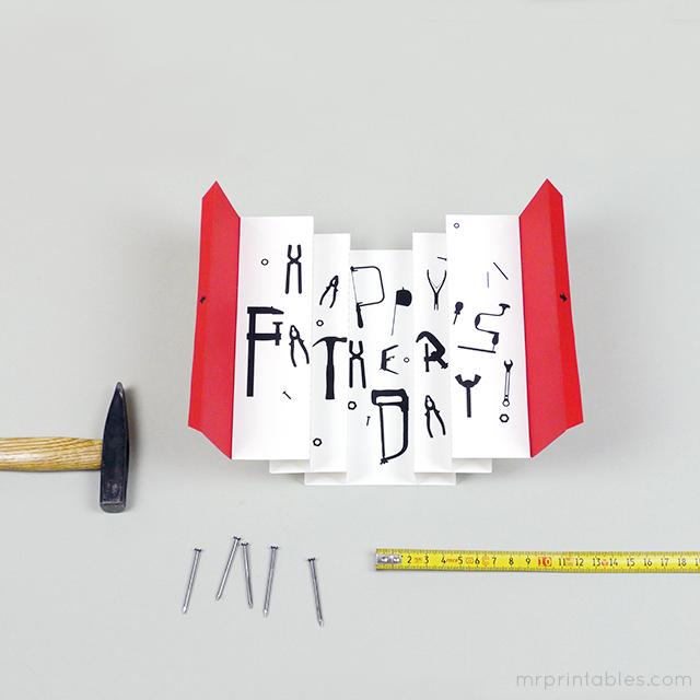 Cartão dia dos Pais - Aprendendo com o Theo