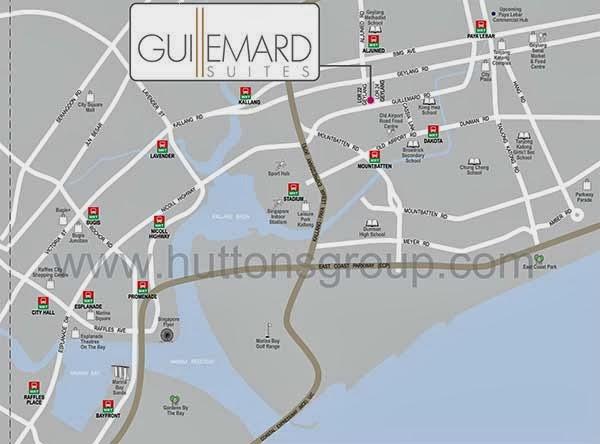 Guillemard Suites Geylang Showflat 65 6100 0877