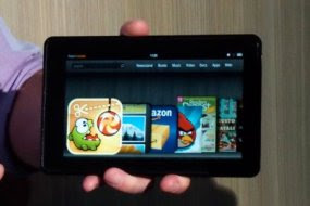 amazon kindle fire Gadget terbaik 2011