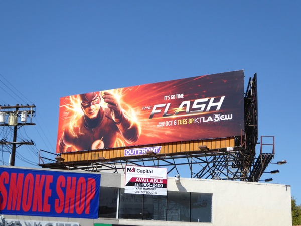 Flash season 2 billboard