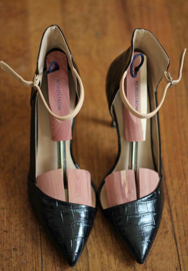 Zara vamp heels