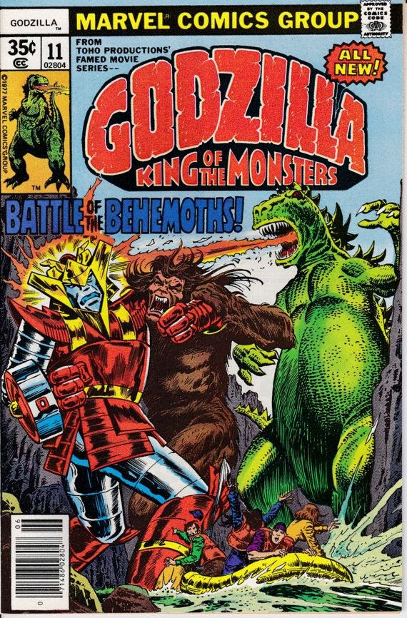 Godzilla #11, June 1978 Issue - Marvel Comics