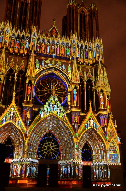Reims Cathedrale Lumiere Reims Cathedrale Son