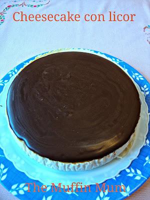 Cheesecake con licor
