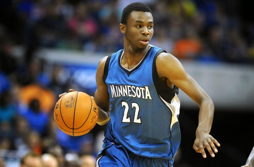 NBA Rookie of the Year 2015 Andrew Wiggins Home Has Indoor Basketball