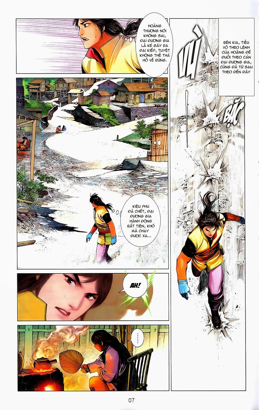 Phong Vân chap 669 Trang 7 - Mangak.info