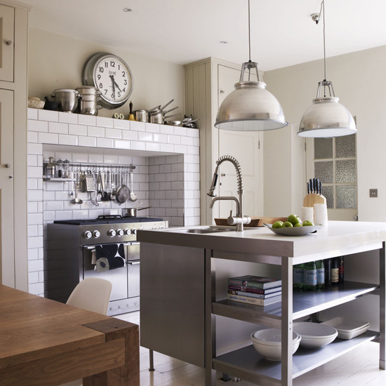 Savoir vivre the utilitarian kitchen - Sleek kitchen world ...