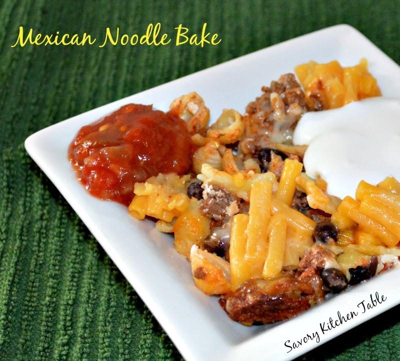 SOUR CREAM NOODLE / MEXICAN NOODLE BAKE