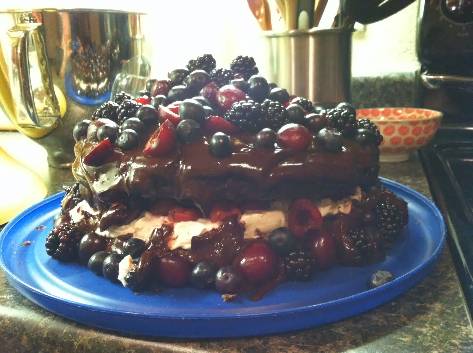 Ulterior Alterations: Black Forest Berry Cake (Elbow Patch Fix)