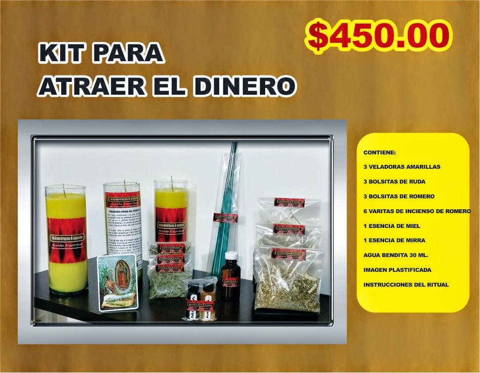 Esoterismo ayuda espiritual kit para ritual para atraer - Atraer el dinero ...