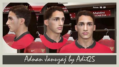 PES 2014 Adnan Januzaj Face by Adit25