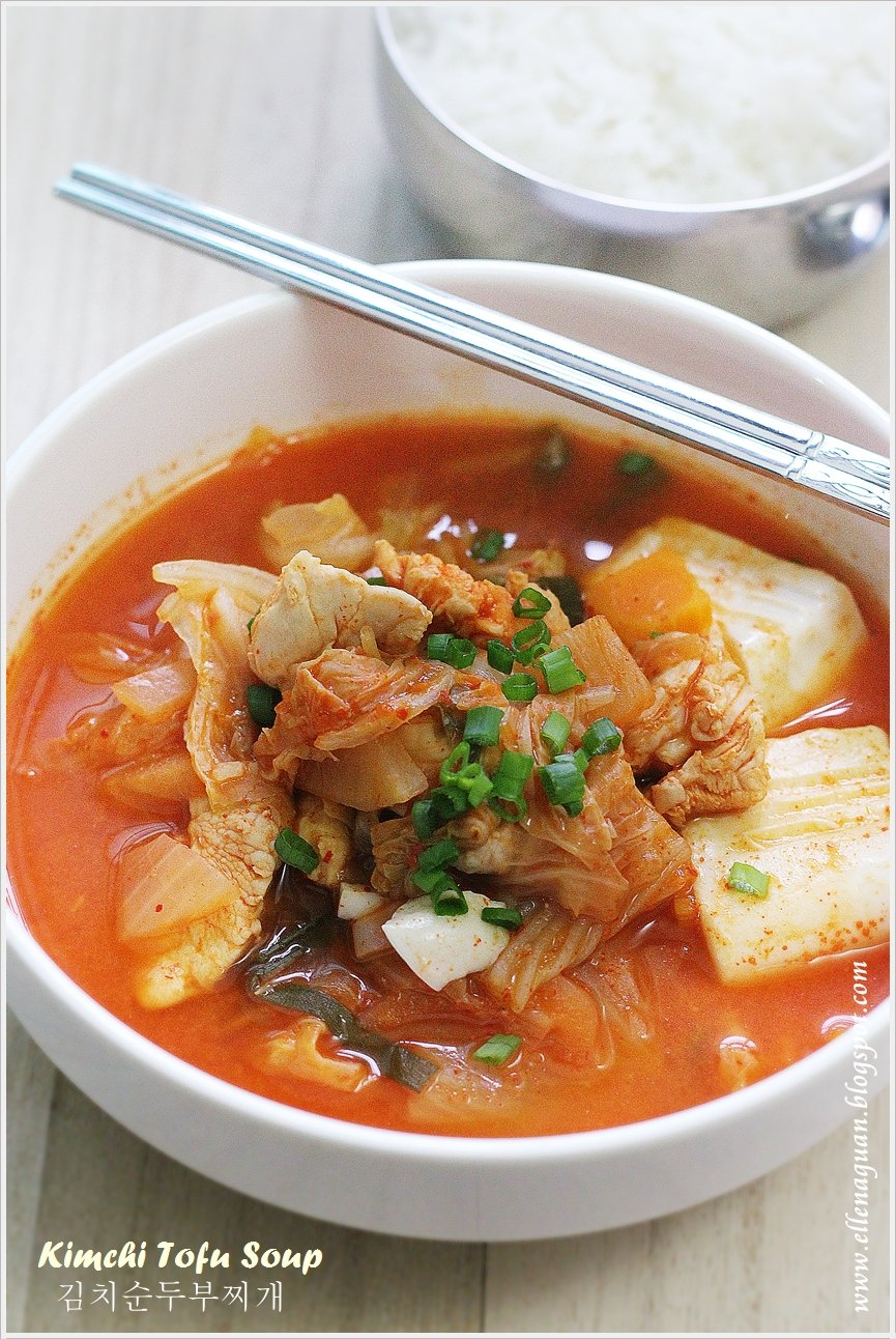 Cuisine paradise singapore food blog recipes reviews and travel korean cooking project kimchi tofu soup forumfinder Image collections