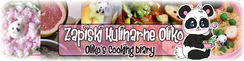 Zapiski Kulinarne Oliko // Oliko's Cooking Diary