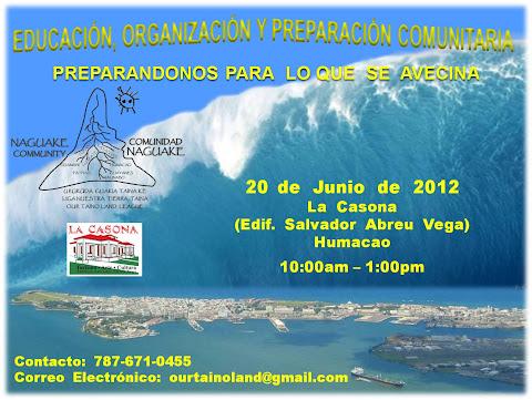 Conferencia  y  Talleres -  Preparacion Comunitaria