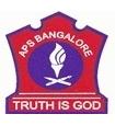 Army Public School K Kamaraj Road Logo