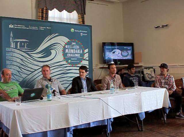 Mundaka Challenge 2012 - Rueda de prensa 12-01-12