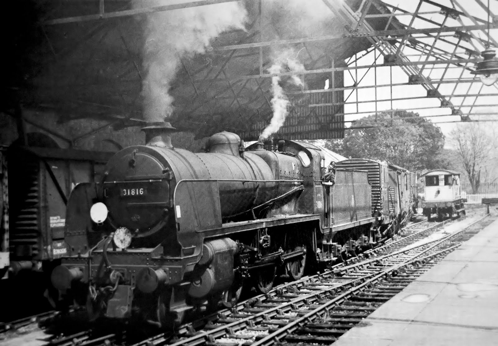 N class at Gosport station