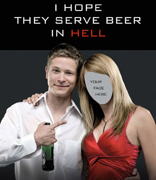 Ver I Hope They Serve Beer in Hell (2009) Online