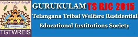 TSRJC Gurukulam Admission 2015 Application Form