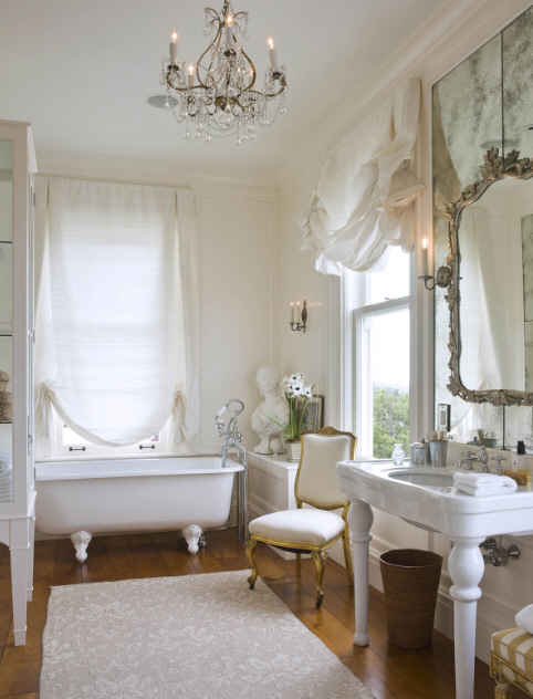 The vintage parlour neo classical bathrooms for Pretty bathrooms