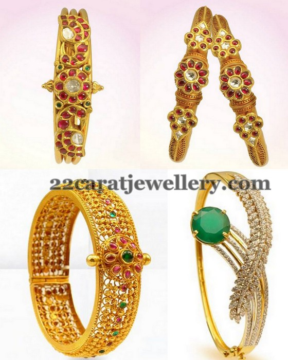 Pota Ruby Antique Style Bangles