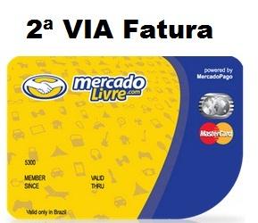 Segunda Via Fatura Do Cartao Mercado Livre Mastercard