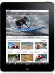 Apple iPad YouTube Playlist