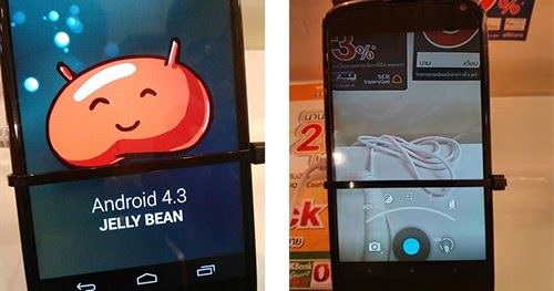 Image Google Nexus 4 running version of Android 4.3 Jelly ...