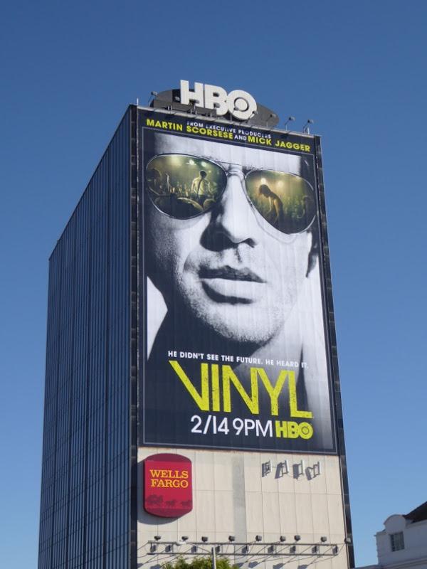 Giant Vinyl series premiere billboard