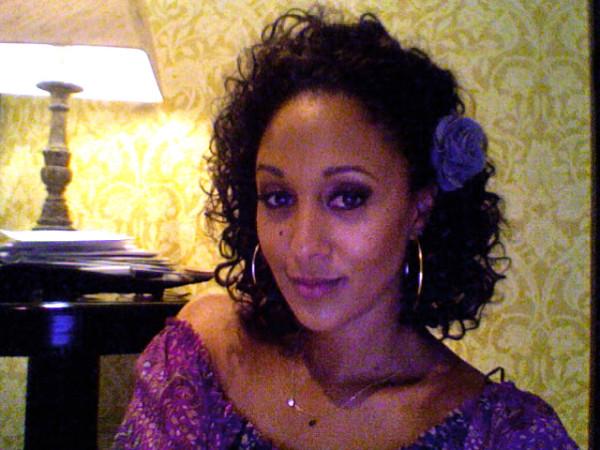 tamera mowry- natural hair celebrity