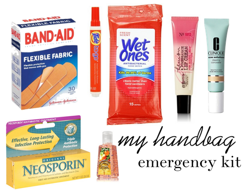 hangbag emergency kit