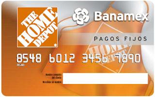 Crédito Home Depot Banamex