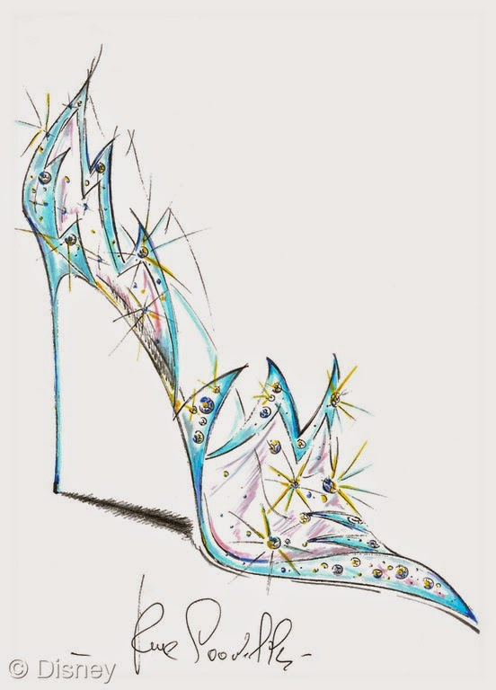 Morgan's Milieu | Cinderella's Glass Slippers: A great quote from René Caovilla.