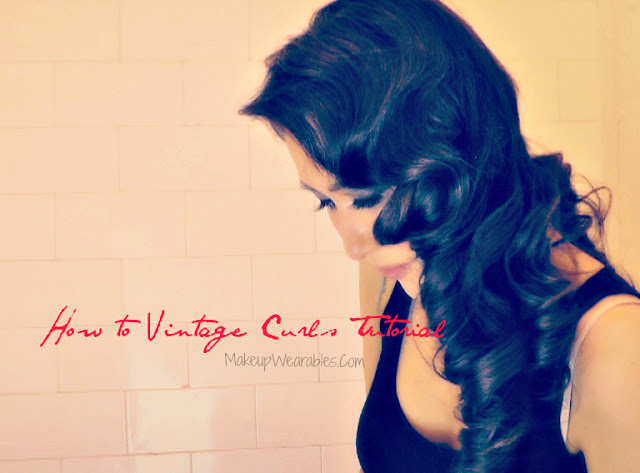 How to Kim Kardashian Vintage retro loose waves hairstyles : how to curl with a flat iron straightener