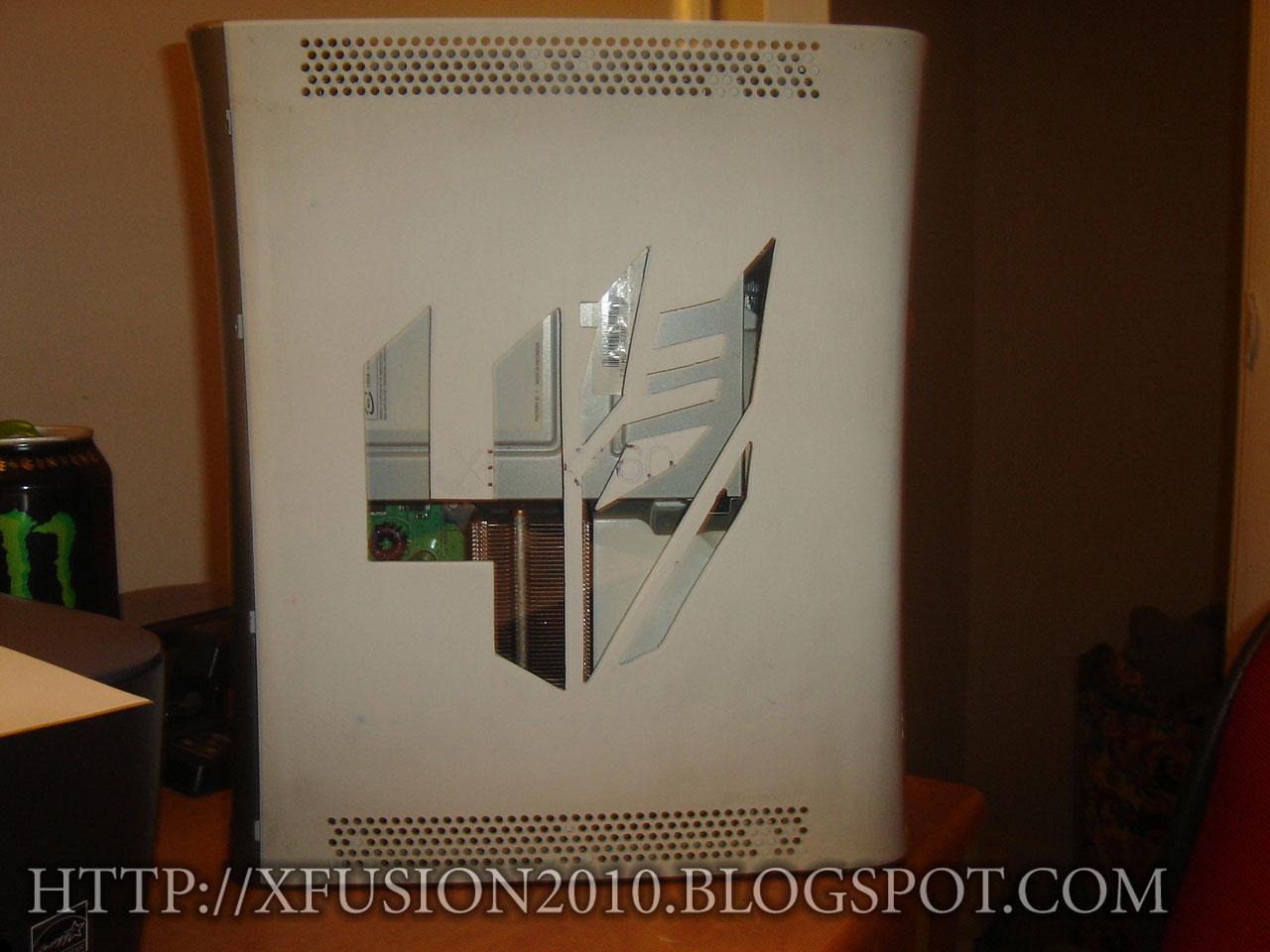 Transformers 4 XBOX 360 Custom Case