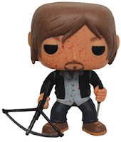 Funko Pop! Biker Daryl Blood Splatter