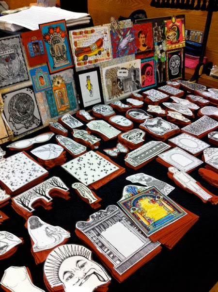 Rubber stamp convention newark ca 2014